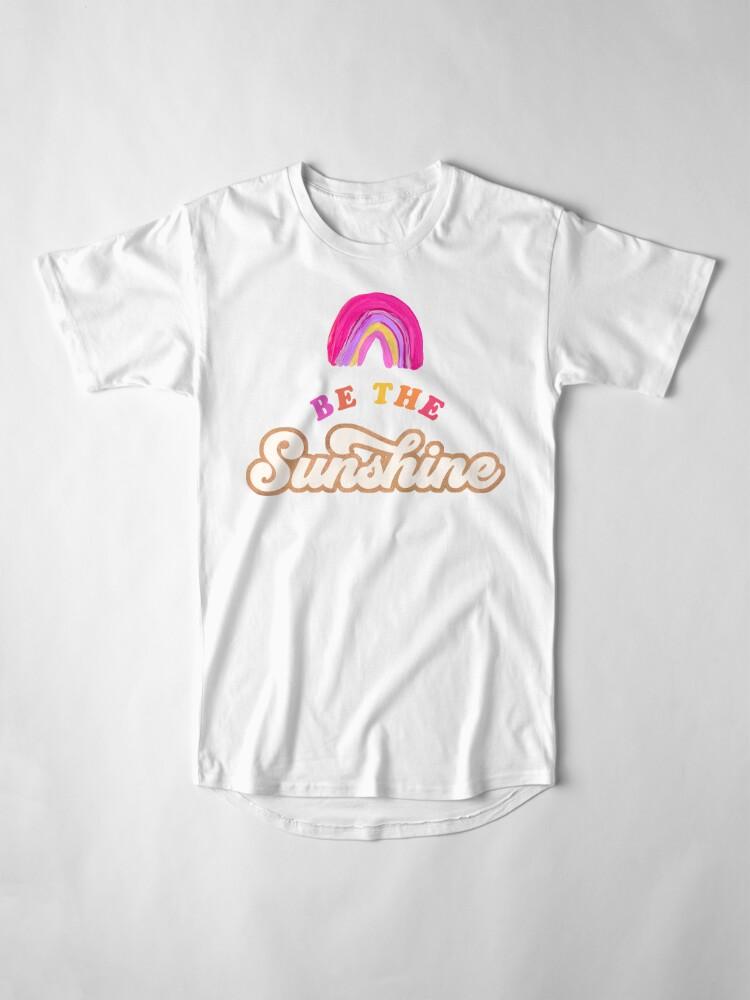 Alternative Ansicht von Sei der Sonnenschein - Pink Palette Longshirt
