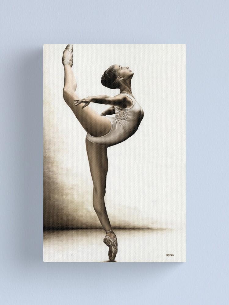 Alternate view of Musing Dancer Canvas Print