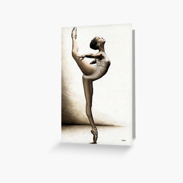 Musing Dancer Greeting Card