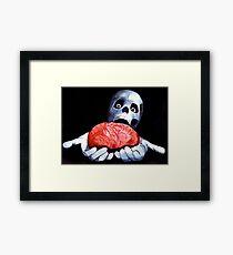 Brains! Live Brains! Framed Print