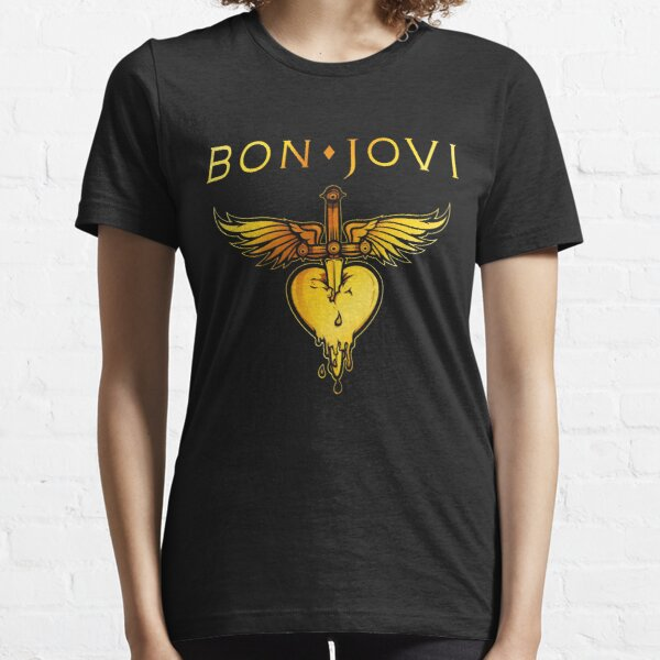 bon jovi logo greatest tour 2019 2020 sigertv Essential T-Shirt