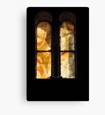 alabaster church windows Leinwanddruck