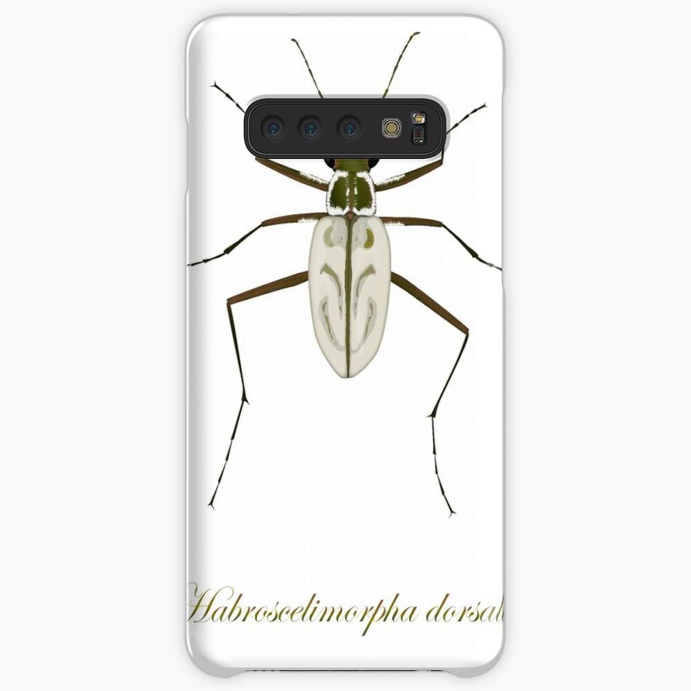 Northeastern Beach tiger beetle, Habroscelimorpha dorsalis Case & Skin for Samsung Galaxy
