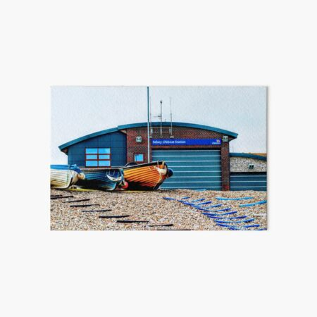 Selsey new lifeboat station Art Board Print
