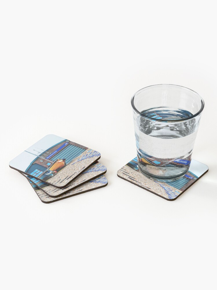 Alternate view of Selsey new lifeboat station Coasters (Set of 4)