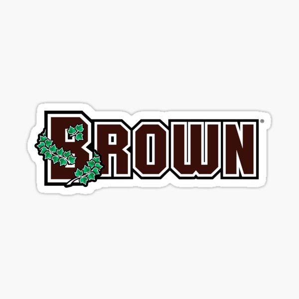 Brown University Logo Sticker