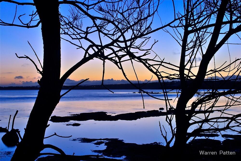 Late Afternoon on Tuggerah Lake. 5-10-2010. by Warren  Patten