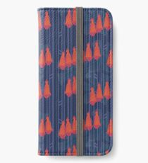 Floral Clash - Foxgloves iPhone Wallet/Case/Skin