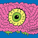 Eye Brain Monster by jarhumor