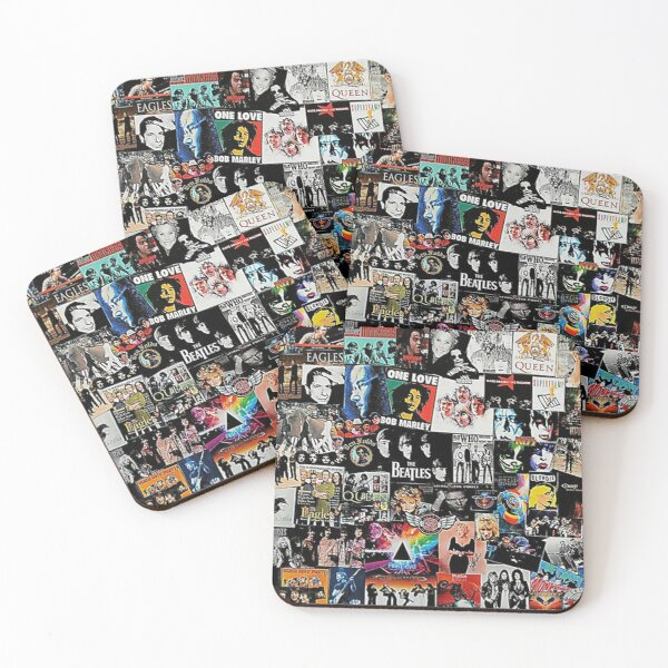 Rock Collage    Coasters (Set of 4)