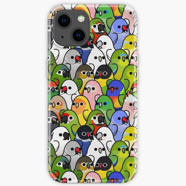 Too Many Birds! Bird Squad 2 iPhone Soft Case