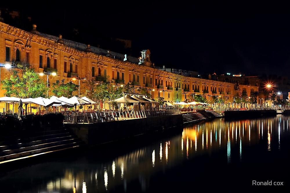 Valletta Water Front MALTA by Ronald cox