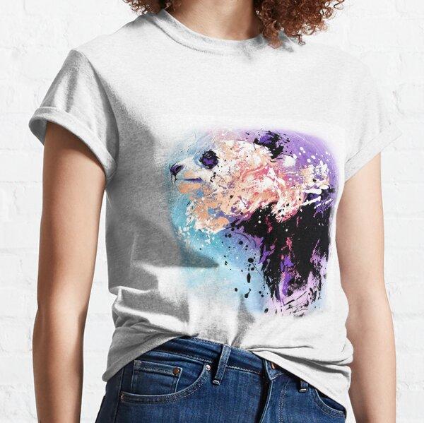 """Panda """"Il se colore de cendres"""" T-shirt classique"""