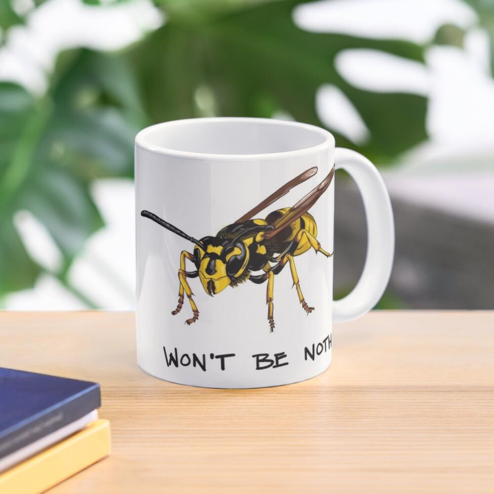 Don't start nothing - hymenoptera edition (for light shirts) Mug