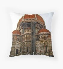 Santa Maria Del Flore, Firenza Throw Pillow