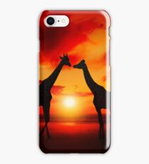 Meeting at Sea iPhone Case/Skin