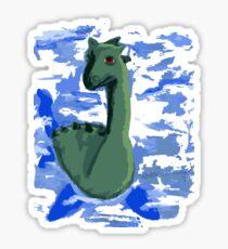 Loch Ness Sticker