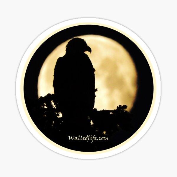 Eagle Silhouette Sticker