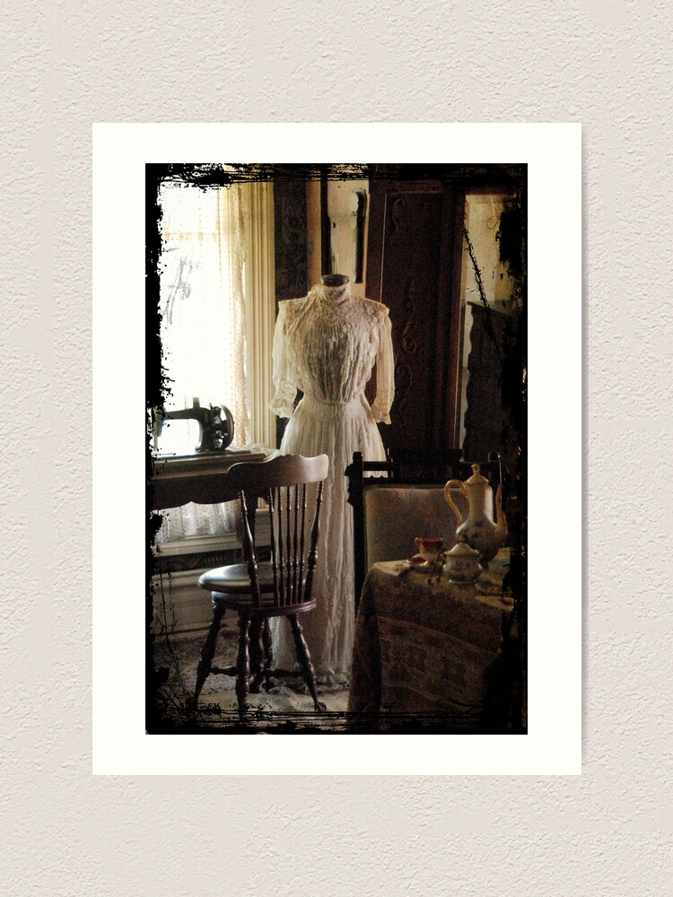 Alternate view of The Sewing Room Art Print