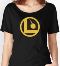 Legion of Super-Heroes Logo Women's Relaxed Fit T-Shirt