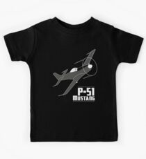 P-51 Mustang Kids Tee