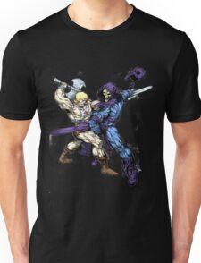 Heman versus Skeletor Unisex T-Shirt