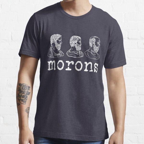 Inspirado por la princesa prometida - Platón - Aristóteles - Sócrates - Imbéciles - Citas de películas - Comedia Camiseta esencial
