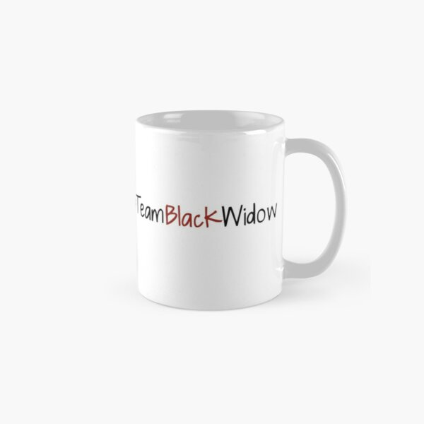 Team Black Widow - Lactrodectus in love  Classic Mug
