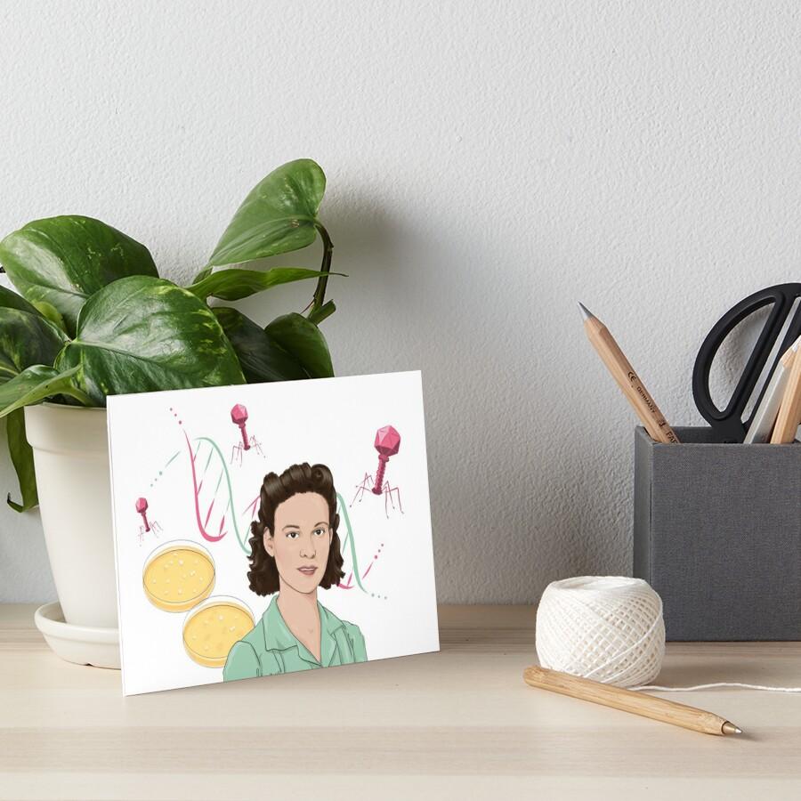 Esther Lederberg Art Board Print