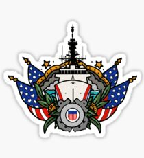 National Security Cutter Glossy Sticker
