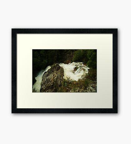 Stitt Falls, Rosebery Framed Print