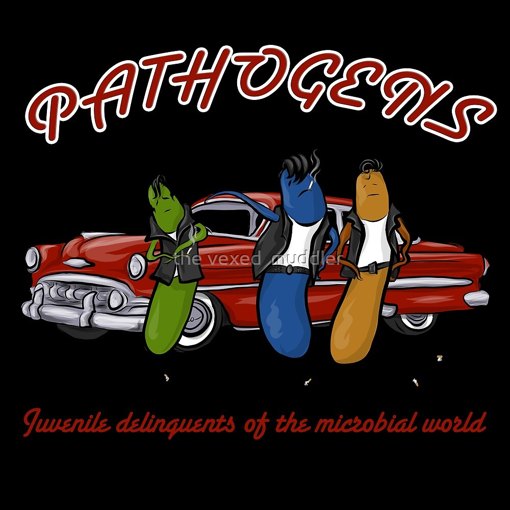Greaser Pathogens by the vexed  muddler