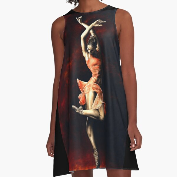 The Passion of Dance A-Line Dress