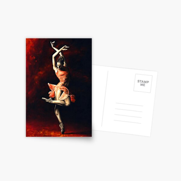 The Passion of Dance Postcard