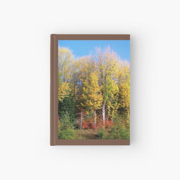 Fall Colors of Western Washington State, Cascade Mountains, Fall foliage Hardcover Journal