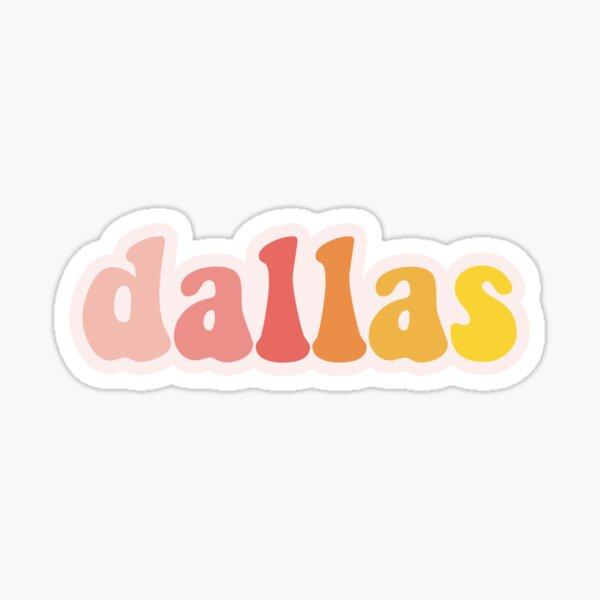 Dallas TX Sticker