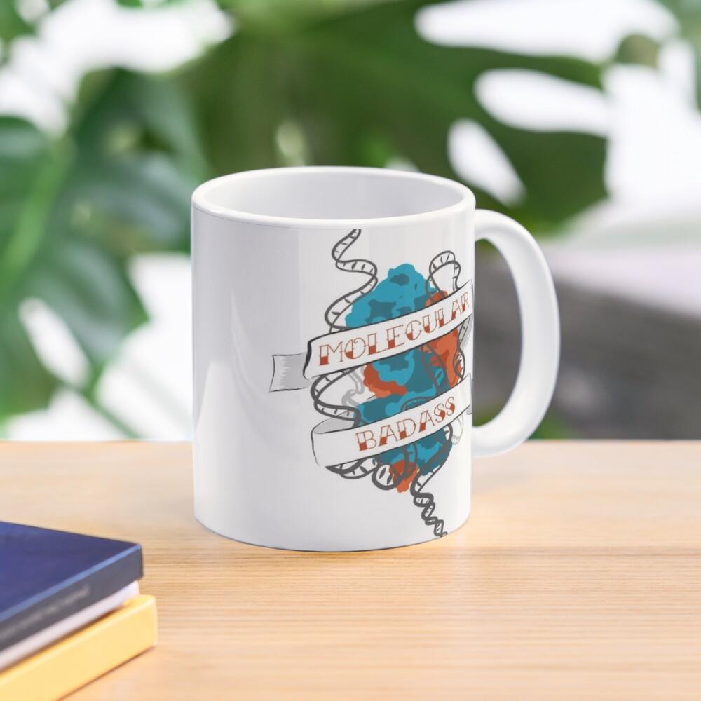 Molecular Badass Tattoo Mug