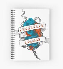 Molecular Badass Tattoo Spiral Notebook