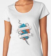 Molecular Badass Tattoo Premium Scoop T-Shirt