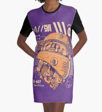 R-head Graphic T-Shirt Dress