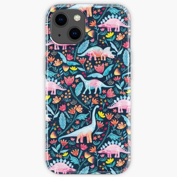 Dinosaur Delight iPhone Soft Case