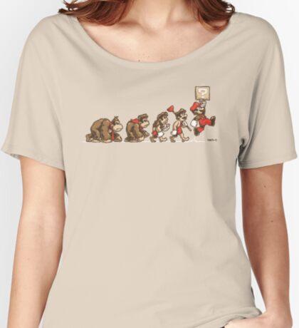 8 Bit Evolution Women's Relaxed Fit T-Shirt