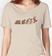 8 Bit Evolution Women's Relaxed Fit T-Shirt