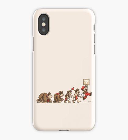8 Bit Evolution iPhone Case