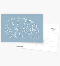 Oh Noes a Water Bear!  Postcards