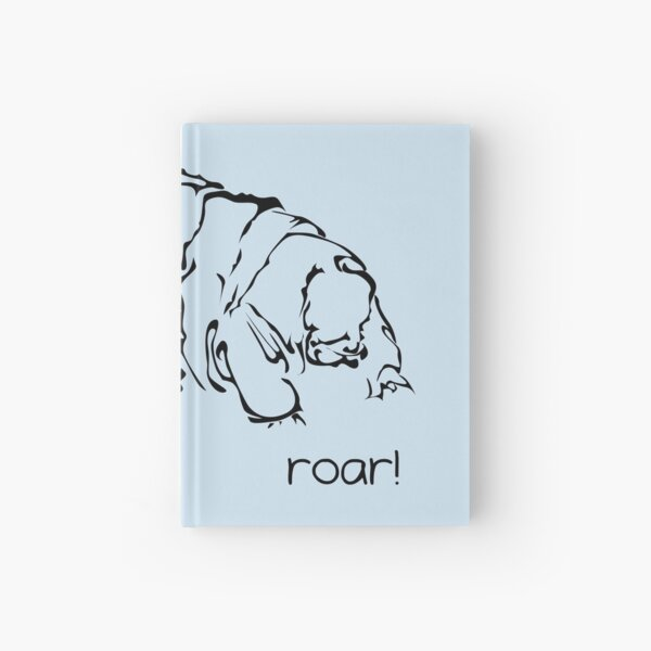 Oh Noes a Water Bear!  Hardcover Journal