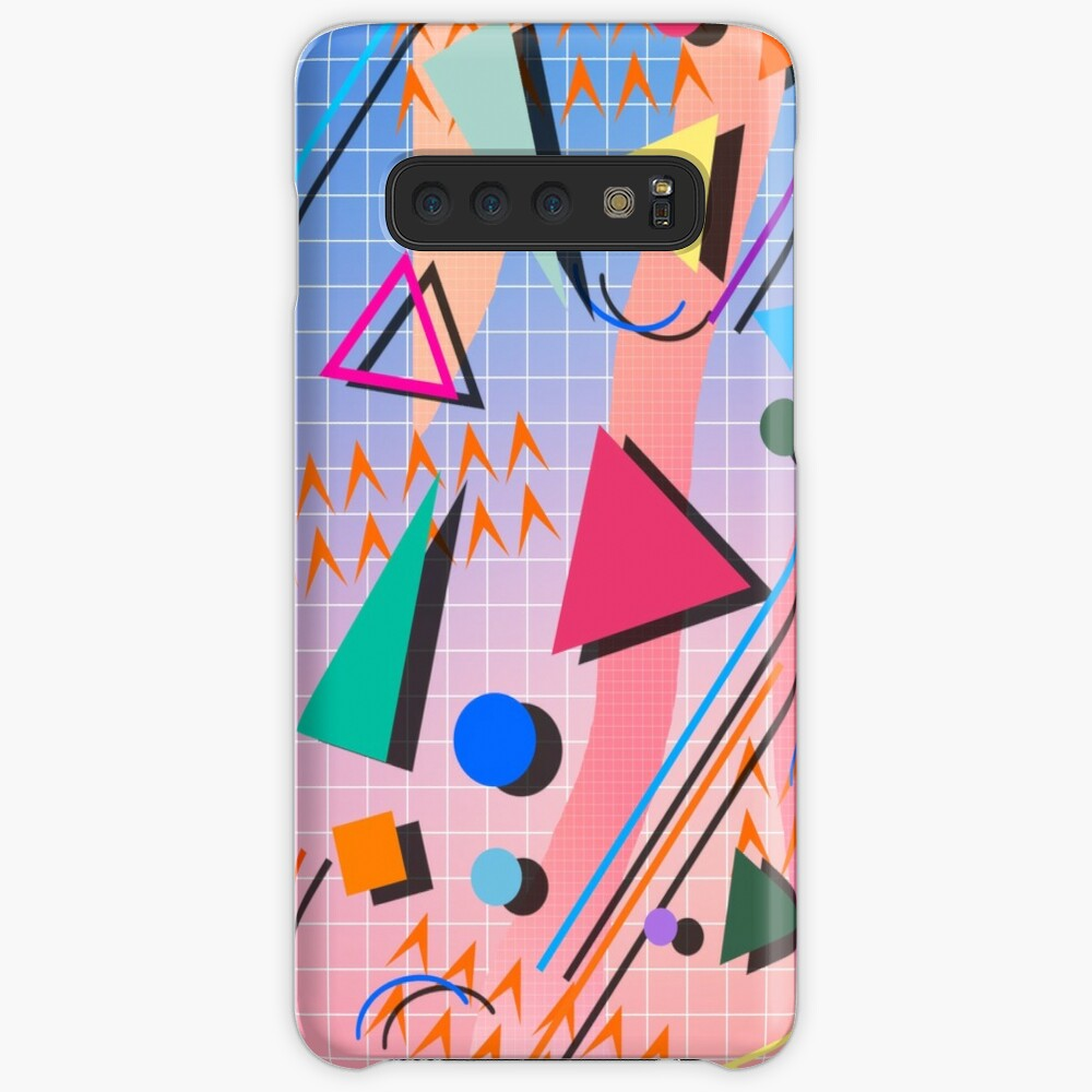 80s pop retro pattern 2 Case & Skin for Samsung Galaxy