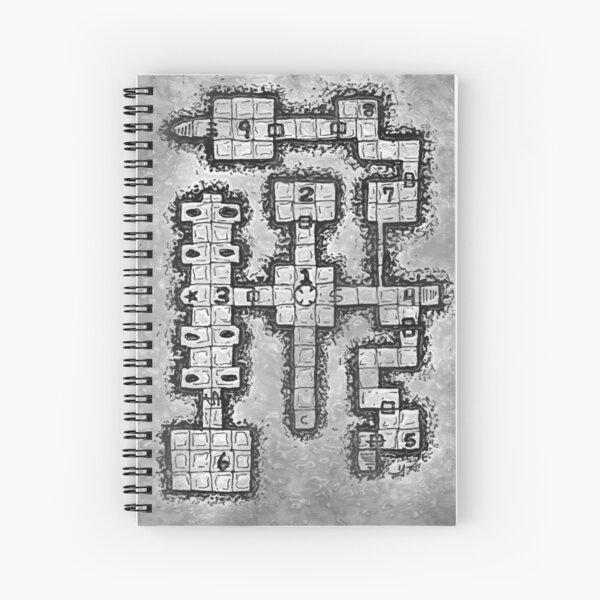 Old School Dungeon Design 002 Spiral Notebook