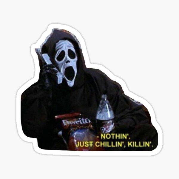 Halloween Movie Sticker Sticker