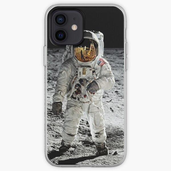 Aldrin on the Moon iPhone Soft Case